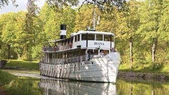 Pressbild - Göta Kanal - m/s Diana