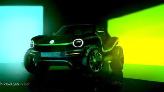 Beach buggy konceptbil har verdenspremiere på Genève Motor Show