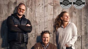 Jacob, Michael och Linn Zachrisson, Fieruaas Distillery.