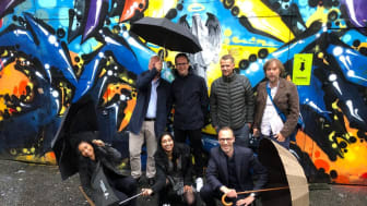 Jonas Aas Torland og resten av 7Analytics teamet.