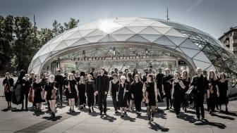 Malmö akademiska kör vill ge utomhuskonserter som lever upp till myndigheternas rekommendationer så här i coronatider. Arkivbild: Nille Leander