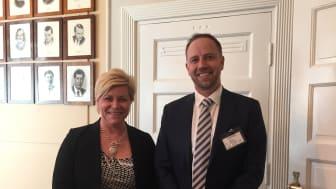 Møte med finansminister Siv Jensen (Frp)