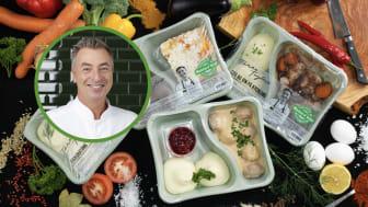 Tareq Taylors färdiglagade maträtter, Maten é klar, är lagade från grunden av kockar med färska råvaror. Maten é klar märker de flesta rätterna med Från Sverige-märket, och finns bland annat att köpa i dagligvaruhandeln.