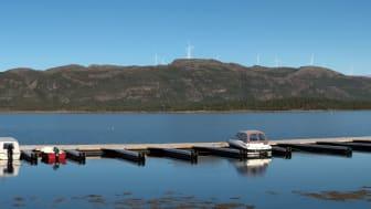 I Kvenndalsfjellet vindpark vil det bli installert 27 stk 4,2 MW-turbiner, én færre enn opprinnelig planlagt.