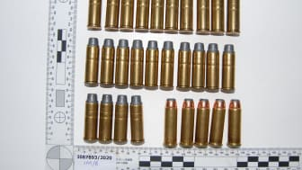 Ammunition recovered