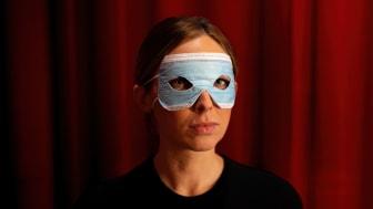 En operamask i Coronatappning #kulturpandemin