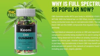 Keoni CBD Gummies 500mg Reviews, Price & Side Effects