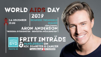 World Aids Day med Aron Anderson!