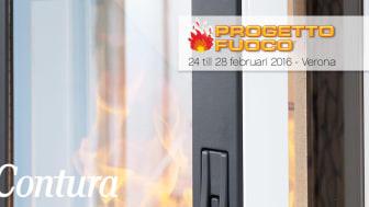 Contura ställer ut på Progetto Fuoco i Italien