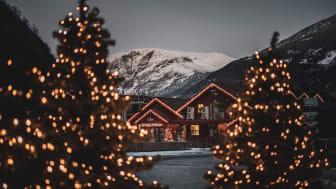 Jul i Flåm. Foto: Sverre Hjørnevik / Visit Flåm