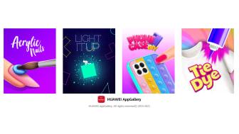 CrazyLabs släpper fyra nya speltitlar i Huaweis AppGallery