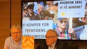 Tirsdag presenterte Pensjonistforbundet sine krav i årets trygdeoppgjør på en videokonferanse med arbeids- og sosialministeren. Onsdag foreligger resultatet.