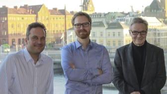 Bengt Svensson, Björn Johnson, Torkel Richert.JPG