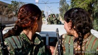 Maryam Ebrahimi är en av de som får projektbidrag för sin dokumentär om kvinnliga kurdiska krigare. Foto: Maryam Ebrahimi.