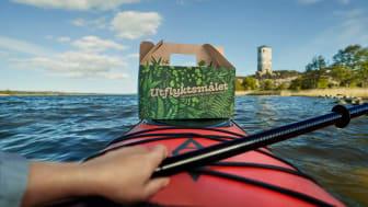 Utflyktsmålet är en take away-box med mat framtagen för upptäcktsfärder och aktiviteter i naturen.