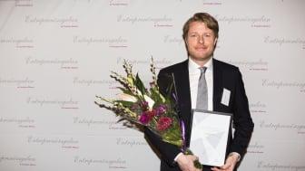 Årets Grundare Öst 2014 tilldelas Netlights grundare Lars Olof Elfversson
