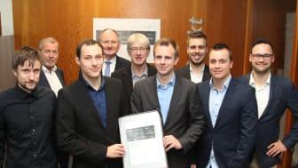 Gruppe Paderborner Jungakademiker 2019 ausgezeichnet