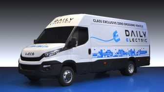 Iveco presenterer nye Daily Electric