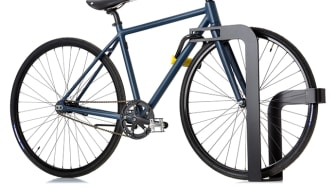 Ekeberg bicycle stand, design by Klock & Sæther