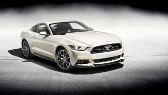 Ford hyllar femtioåringen Ford Mustang med en 50 Year Limited Edition
