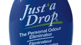 Just a drop tar bort oönskad lukt!