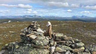 Fem toppar är en utmaning för fjällvandraren i Ramundberget.