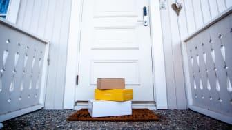 Et overveldende flertall ønsker å pakker levert hjem