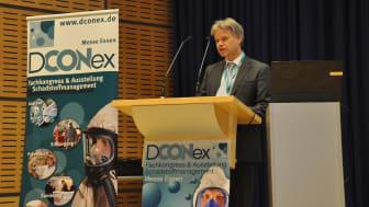 Da sich die DCONex in mehrere Vortragsblöcke gliedert, fasste Michael Henke, Management Programm B+B BAUEN IM BESTAND, auf der vergangenen DCONex die wesentlichen Kernbotschaften zusammen. Foto: B+B BAUEN IM BESTAND