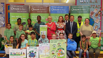 Youngsters take the lead in recycling and tackling litter
