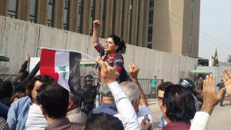 2020 års Per Anger-pristagare: Intisar Al-Amyal från Irak