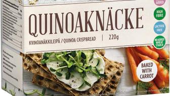 Rustikt Quinoaknekkebrød