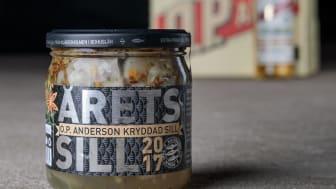 Årets Sill 2017 med smak av O.P.Anderson och dess kryddor