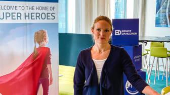 Anna Selenius, Projektledare Bengt Dahlgren