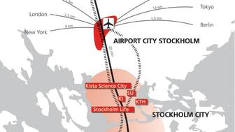 Pressinbjudan Airport City Stockholm: Sveriges första riktiga flygplatsstad och framtidens destination