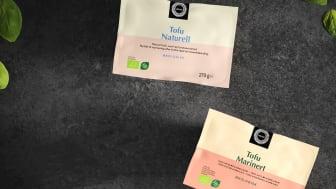 Helios lanserer økologisk tofu i to gode smaker. Du finner høyoppløselige bilder nederst i pressemeldingen.