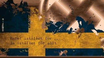 Teater Fryshuset framför Hatets röst i Borlänge torsdag 10 november