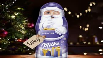 Milka obdaruje o Vánocích ty, kteří to nečekají