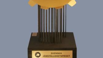 18 bidrag har nominerats till Svenska Jämställdhetspriset 2017
