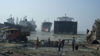 PBU støtter ansvarlig skibsophugning
