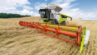 LEXION combine harvester