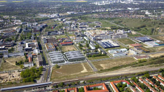 "Luftbild ""Berlin Adlershof"" (Copyright: Adlershof Projekt GmbH/Allianz)"