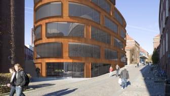 Ny arkitekturskola blir landmärke för KTH i Stockholm