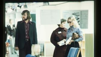 Mässbesökare på 70-talet