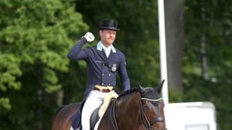 Mads Hendeliowitz och OS-hästen Jimmie Choo Seq Fotograf: Roland Thunholm