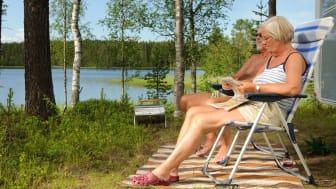 Trygghet vid bokning via internet för seniorer 50+