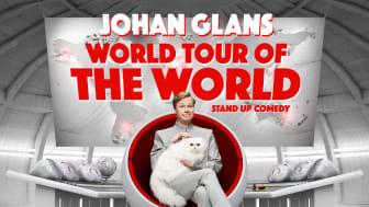 Johan Glans förlänger sin turné och kommer till Sparbanken Lidköping Arena 24/2 2018