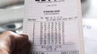 Fire nye jule millionærer efter lørdagens Lotto trækning