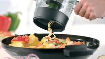 Spiralskärare för runda grönsaker - skivar snabbt och lätt