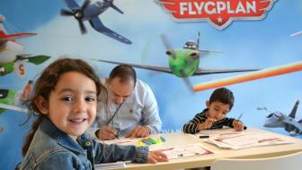 Disney landar Flygplan på Landvetter