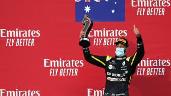 Daniel Ricciardo säkrade Renaults andra pallplats för året i helgens F1-lopp i Italien.
